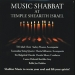 Music Shabbat at Temple Shearith Israel