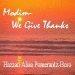 Modim - We Give Thanks