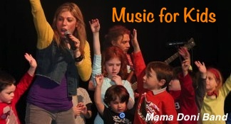 Music for Kids on stage