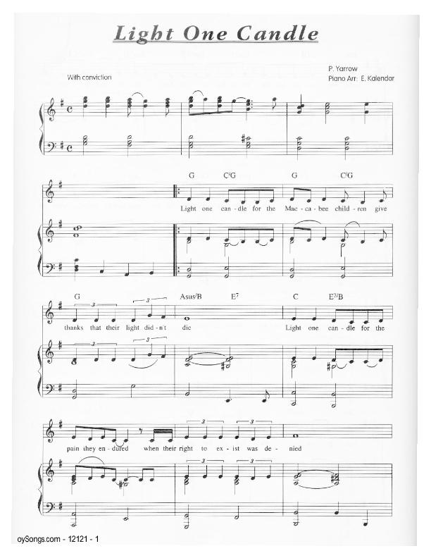 Oysongs Jewish Music